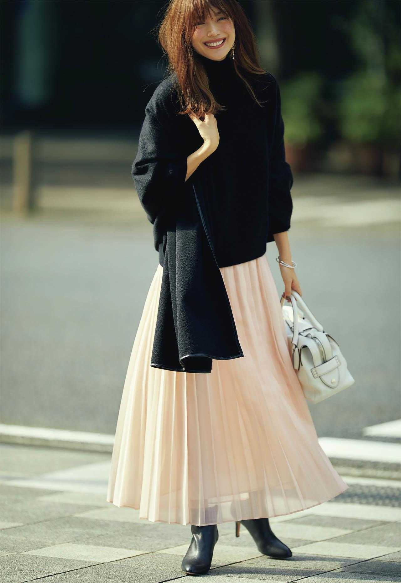 平均気温25度の初秋にベストな服装は? 季節の変わり目に着たいコーデ|40代ファッションまとめ_1_11