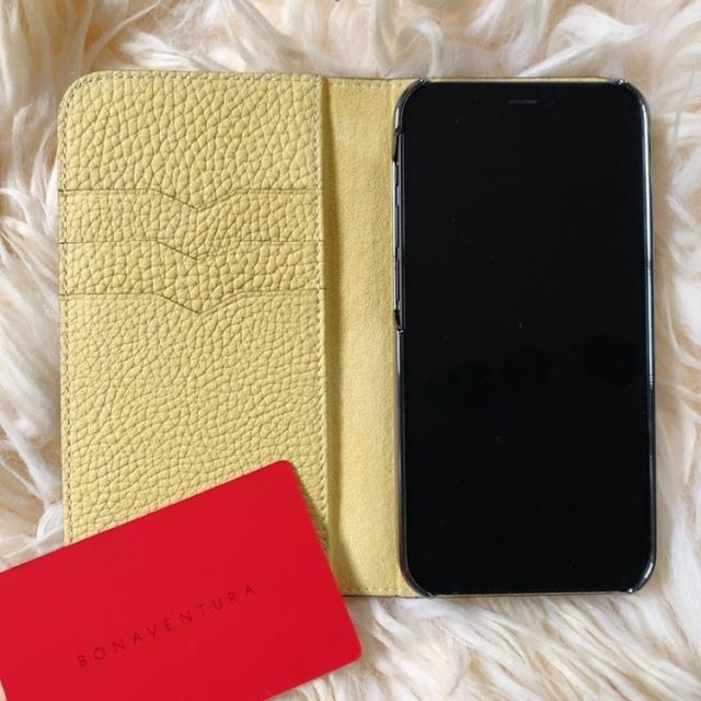 Bonavebtura(ボナベンチュラ) iPhoneの手帳型ケース