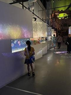 日本の夏を水族館全体で演出