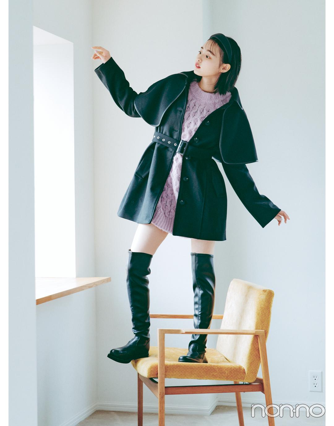 遠藤さくらSweet BLACK♡ きれい色と合わせて上級者っぽく_1_2
