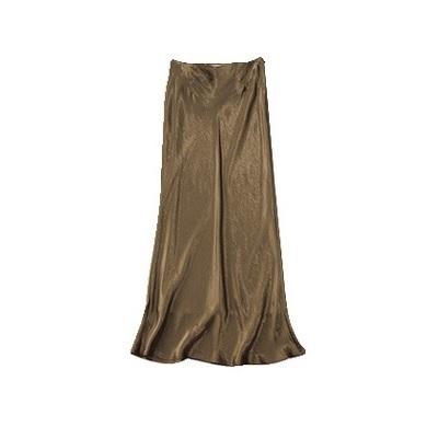 【4】サクラの光沢ナロースカート