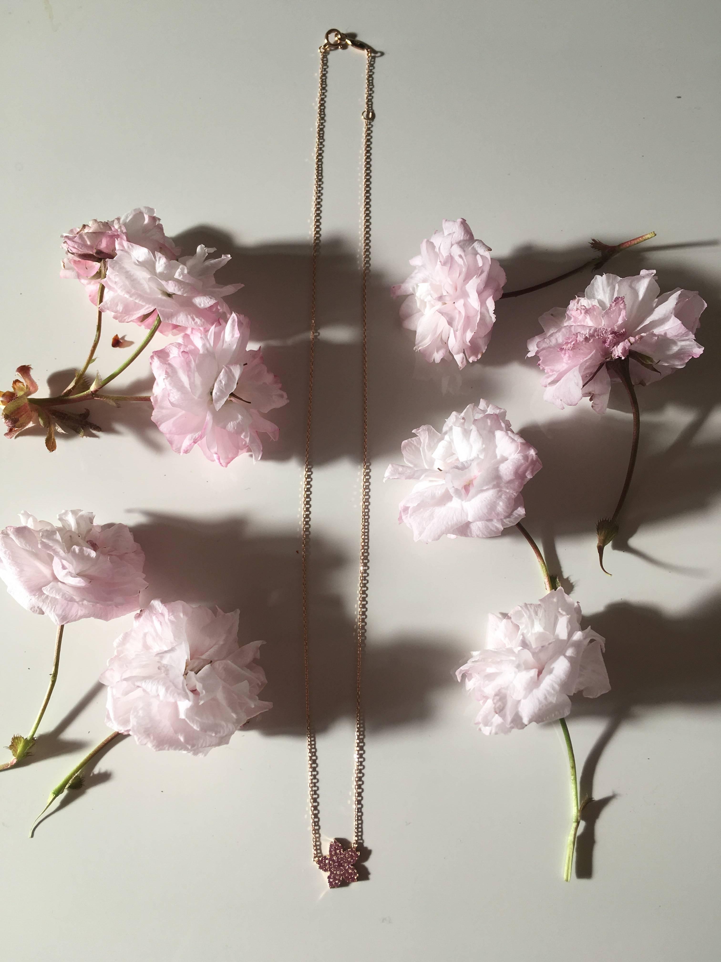 ❀AHKAH 桜ネックレス✿_1_2