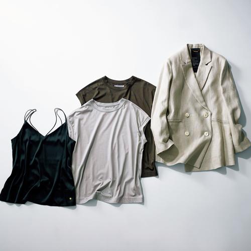 カオスのジャケット、Tシャツ、キャミソール