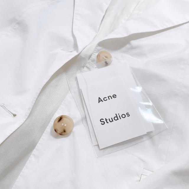 夏にさっと羽織りたい!Acne Studiosの白いジャケット_1_2