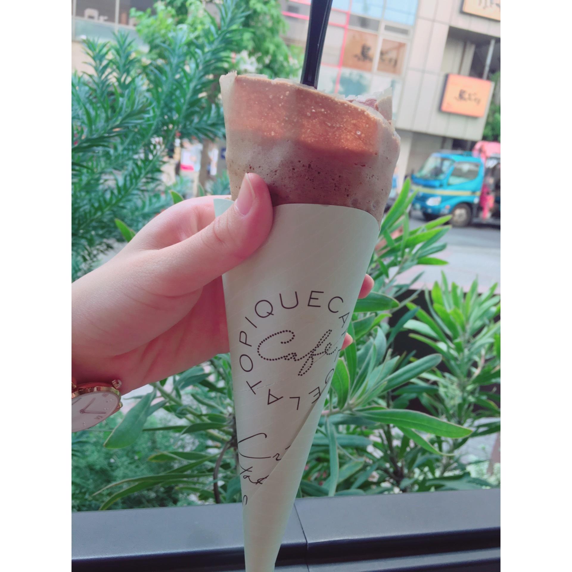 テラス席が気持ちいい♪「gelato pique cafe」_1_2