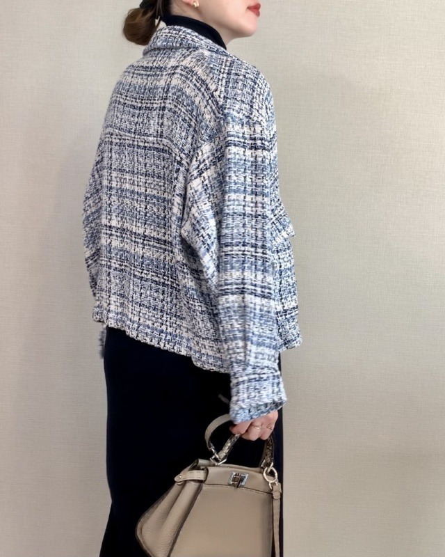 ZARA テクスチャー シャツジャケット 6,990円