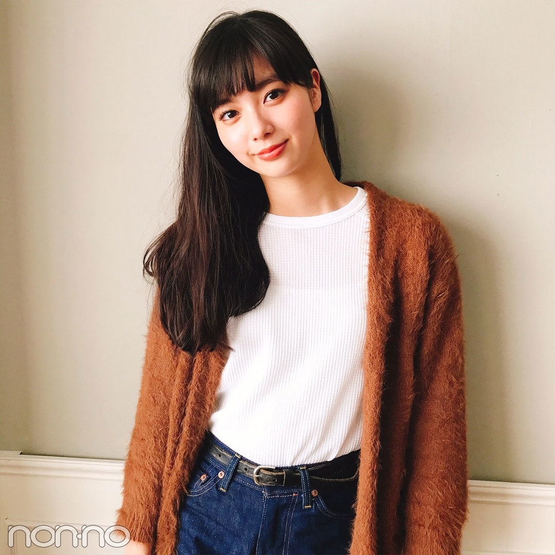 新川優愛はリーバイスのデニム×ROSE BUDでラクちんコーデ【モデルの私服スナップ】_1_2-1