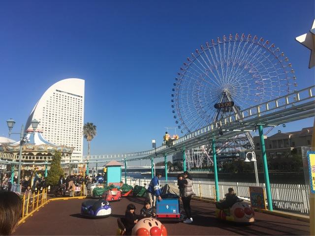 子供も大人も同時に楽しめる横浜、大好きです🎶