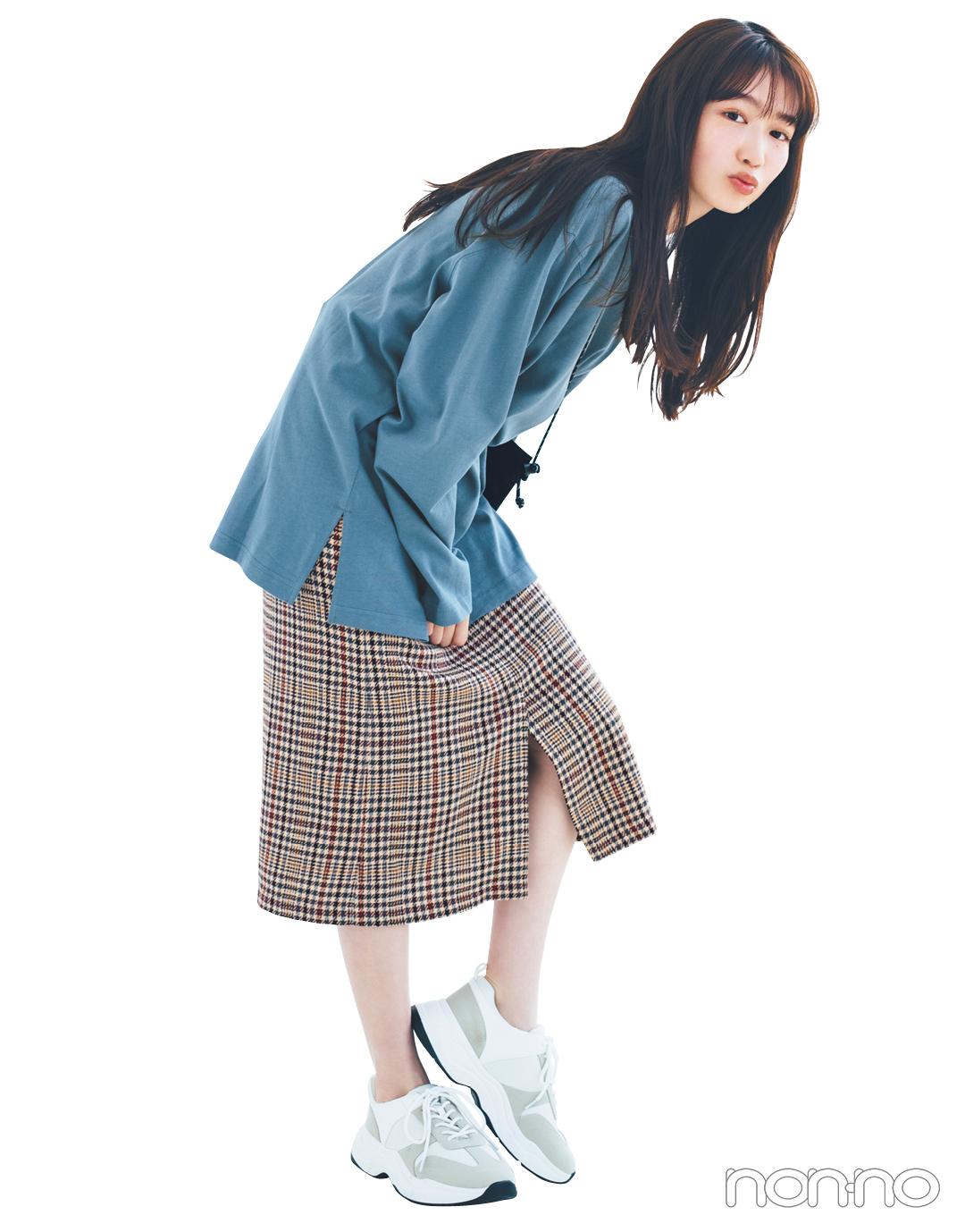 GUの秋新作スカートが神! 1990円で7通りに着回せる★_1_4-7