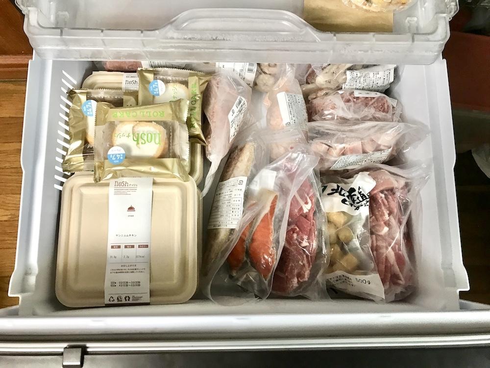 冷凍庫にイン