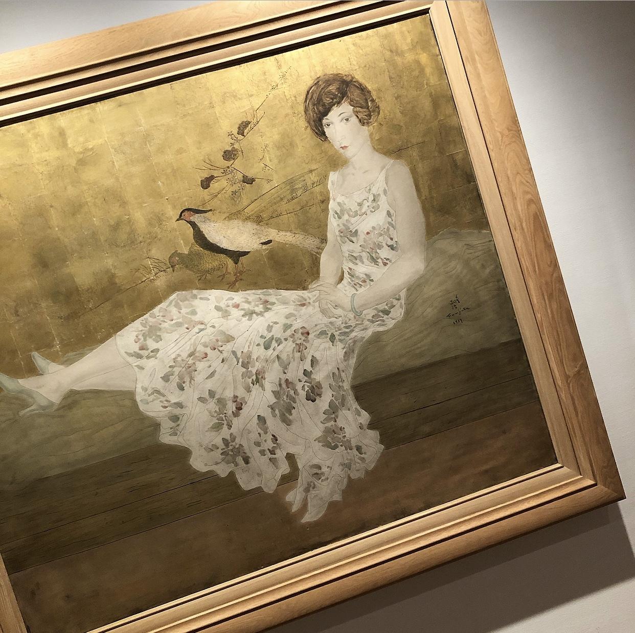 秋色ジレで、ロンドンナショナルギャラリー展へ_1_2-2