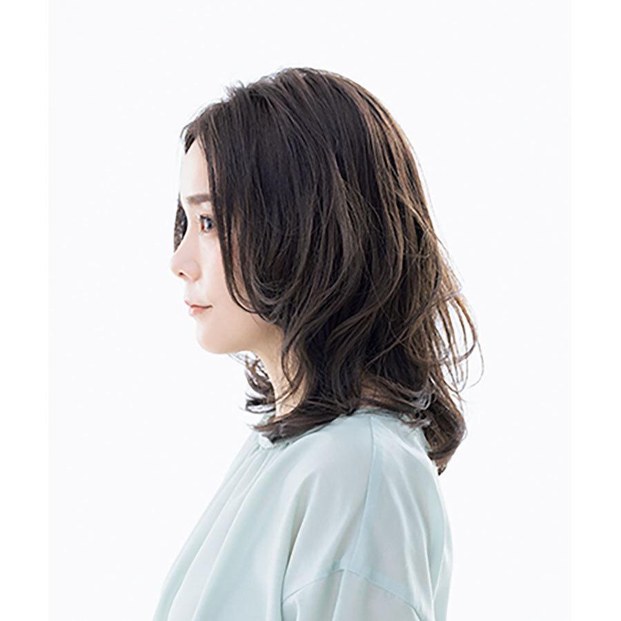 横から見た人気ヘアスタイル3位の髪型