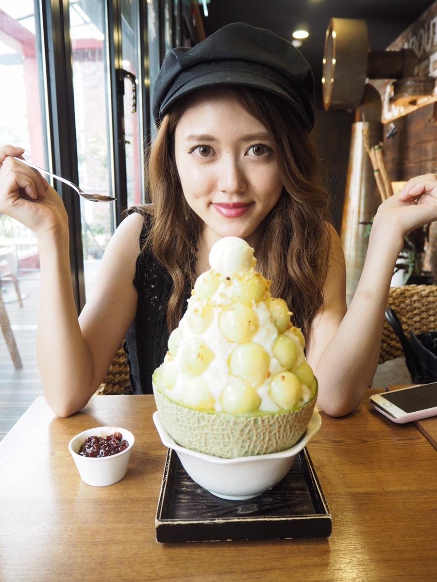 【韓国ピンス】メロンがやまもり!『Lga COFFEE』_1_2