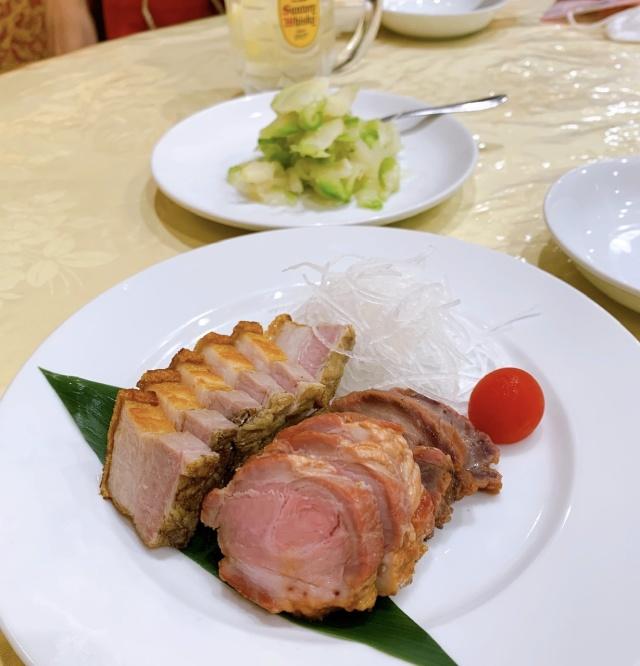 小腹が空いたのでアペタイザーがわりに中華料理をつまんだり。