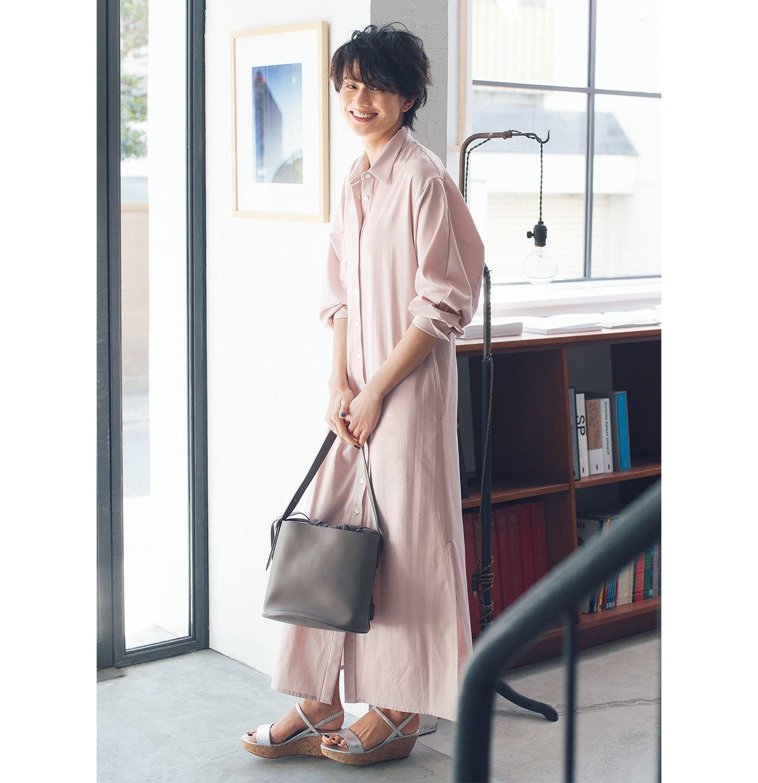 チノ【渡辺佳子さんコラボ】シャツワンピース
