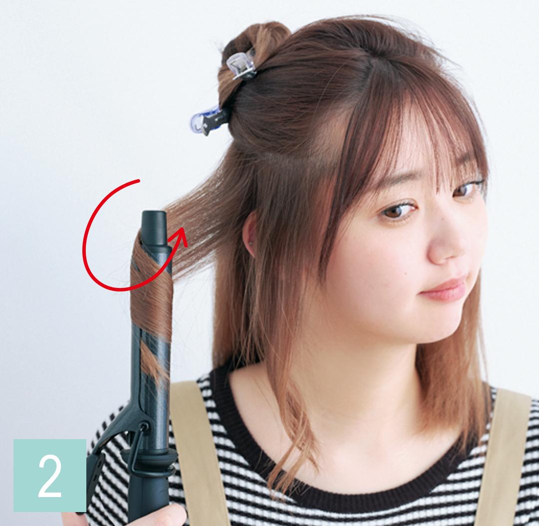 ミディアムの巻き髪の基本はコチラ! カールのキープ法もていねい解説♡ _1_4-3
