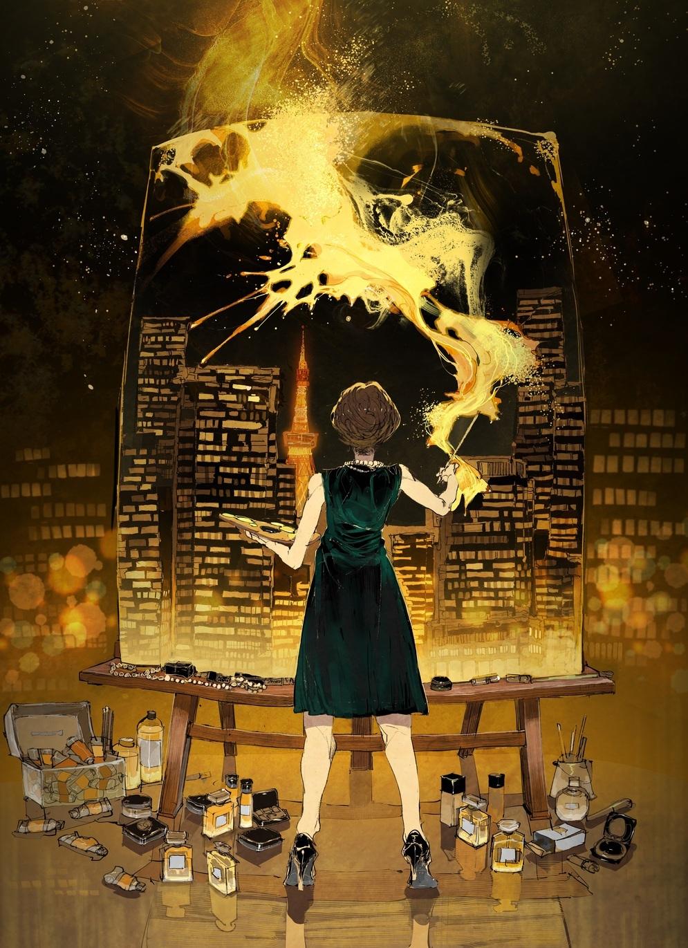 シャネルが気鋭の漫画家とコラボレーション!「MIROIRS - Manga meets CHANEL」_1_1