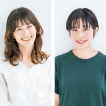 broocH(ブローチ) (右)平野 愛さん、(左)杉山由夏さん