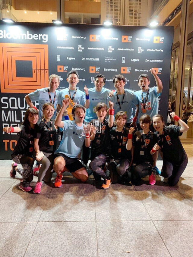 Bloomberg Square Mile Relay TOKYO_1_2-2