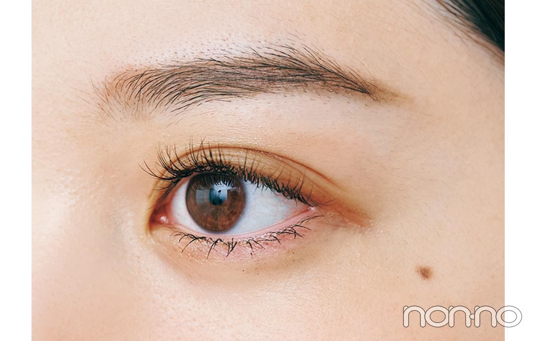 岡本夏美のニュアンス盛れる眉のつくりかたプロセスカット1-6