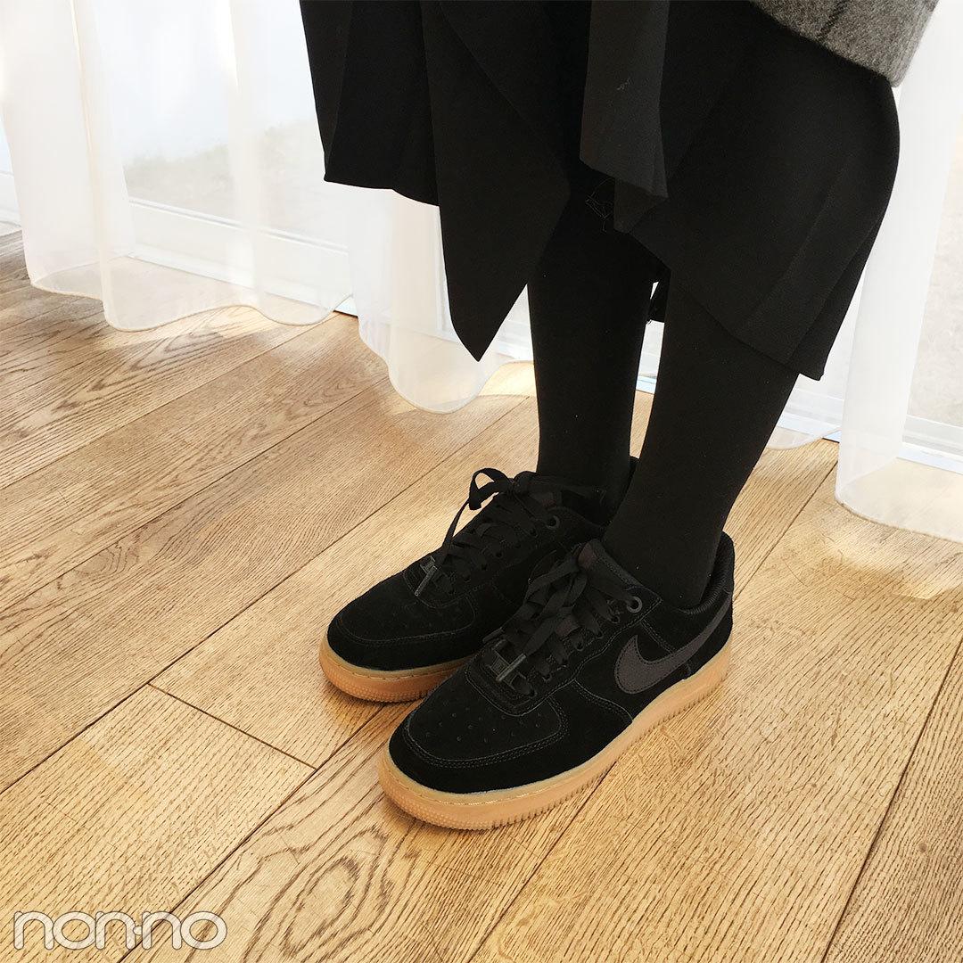 鈴木友菜はKBFのチェック柄コートでゆるずるあったかコーデ♡ 【モデルの私服スナップ】_1_2-3