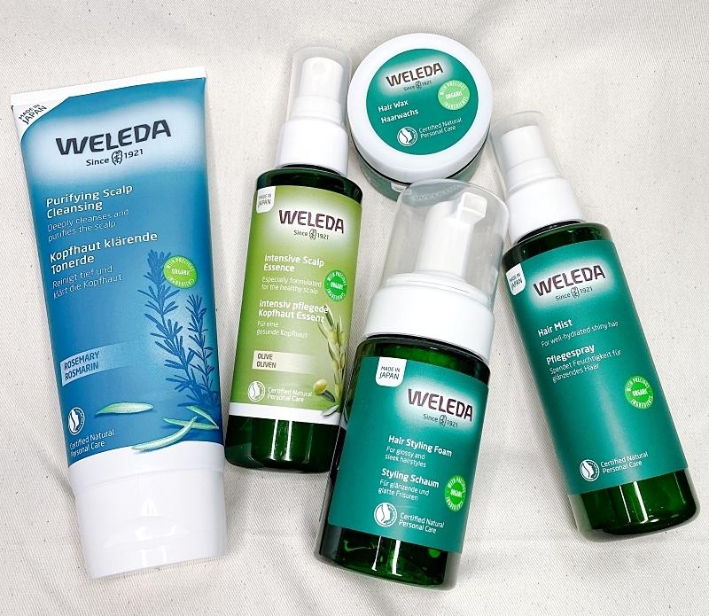 WELEDAのオーガニックヘアケアシリーズ