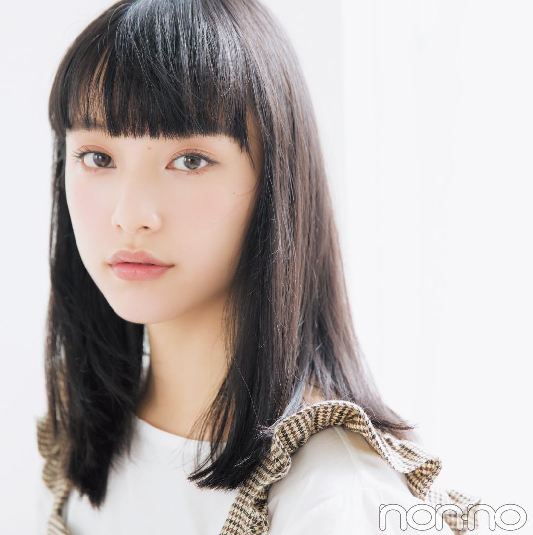 山田愛奈、20cm髪を切る! 小顔前髪&透明感カラーのお手本ヘアスタイル♡ _1_1