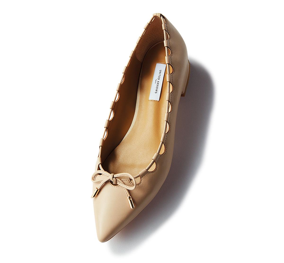 """こなれ靴の代表格 """"ポインテッドフラット""""_1_1-4"""