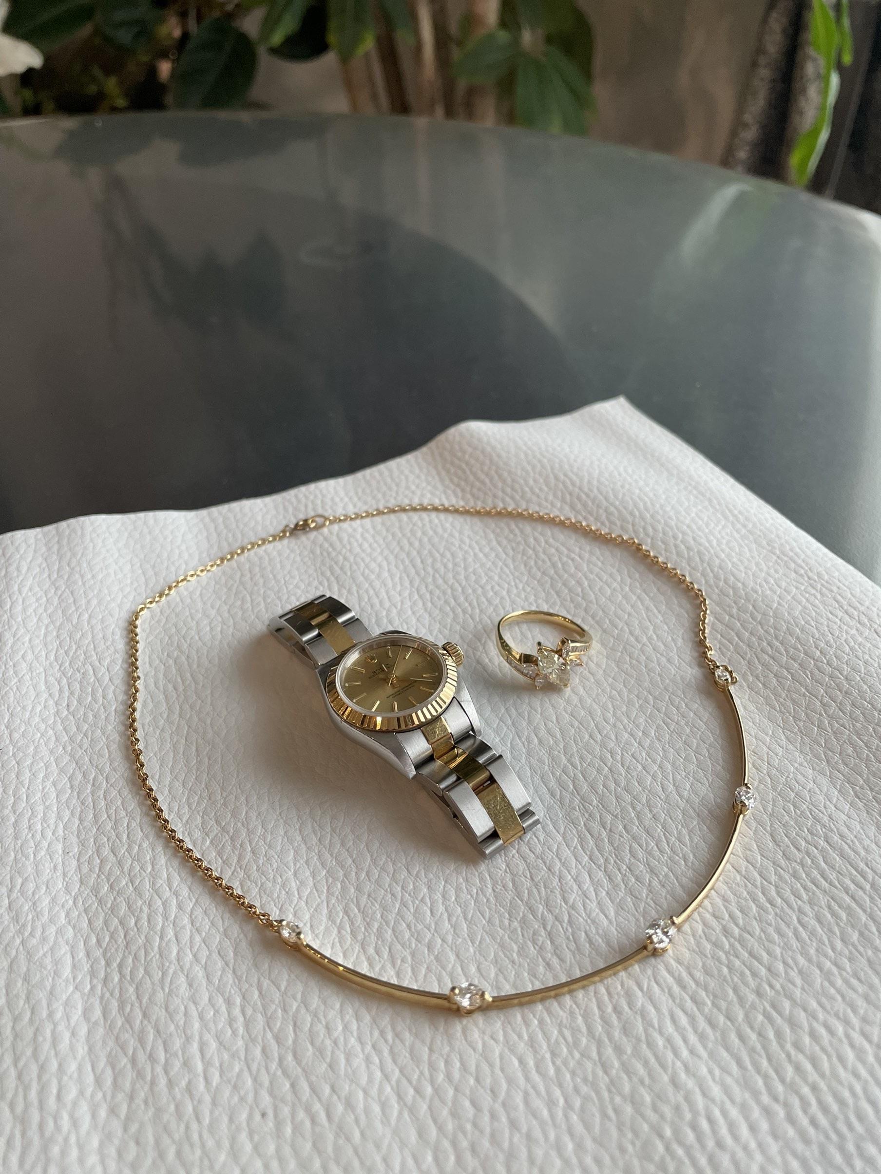 腕時計 ネックレス 指輪