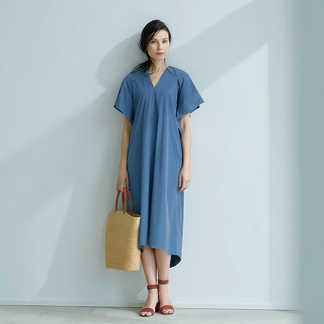 池田奈加子さんと待望のコラボ!  1枚で着られて涼しい「雰囲気出しワンピース」 五選_1_1-1
