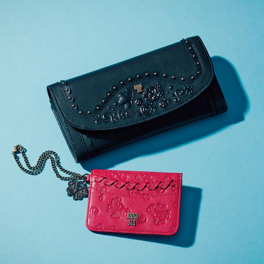 特別感たっぷり♡アナ スイ、ジルスチュアートのお財布&カード入れをゲット!_1_1