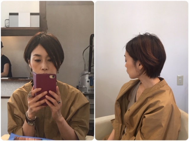 """""""ショート×パーマ""""で動きのある髪型に!_1_1-3"""