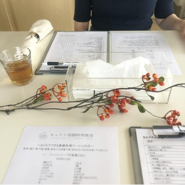 キュアナ薬膳料理教室