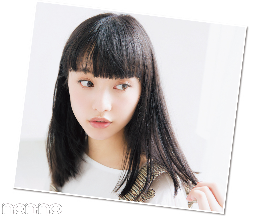 山田愛奈、20cm髪を切る! 小顔前髪&透明感カラーのお手本ヘアスタイル♡ _1_3-3
