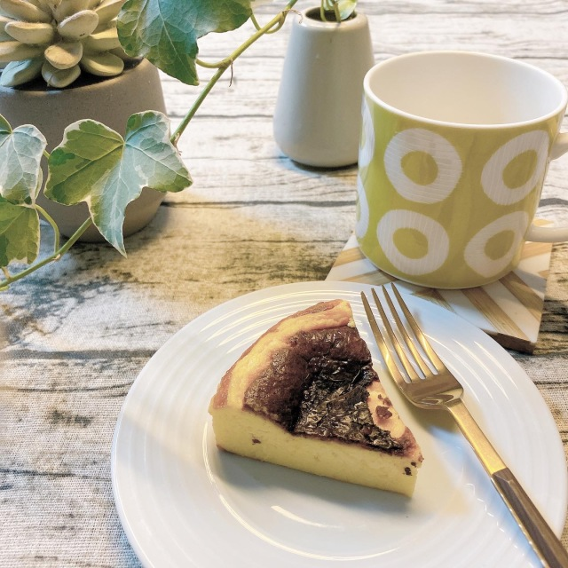 週末におすすめのお菓子作り♡バスクチーズケーキ_1_1-1