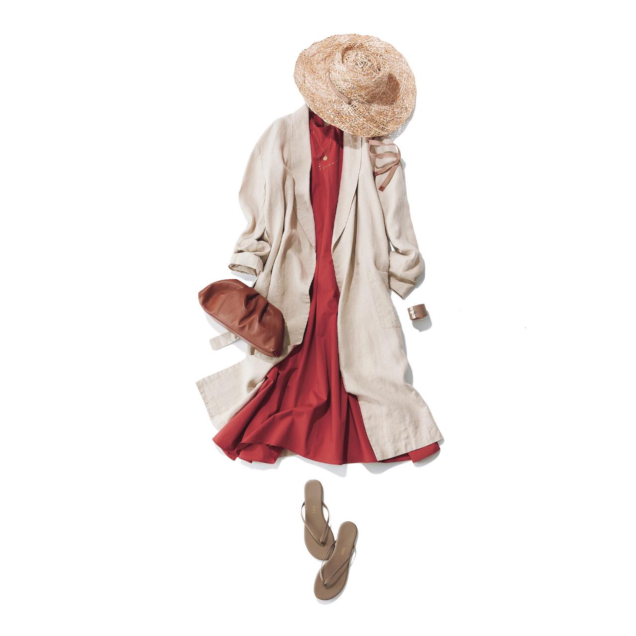 【大人のためのビーサン】アラフォーのカジュアルコーデに似合うビーサンのあわせ方&選び方|40代ファッション_1_5