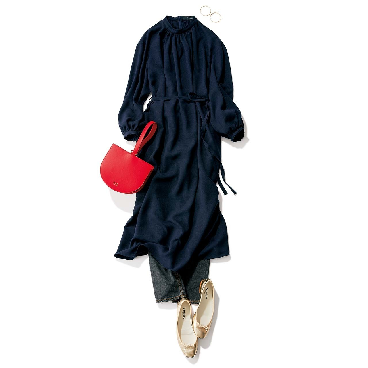 楽だからじゃない!アラフォーファッションの主役になる「フラット靴」| 40代ファッション_1_11