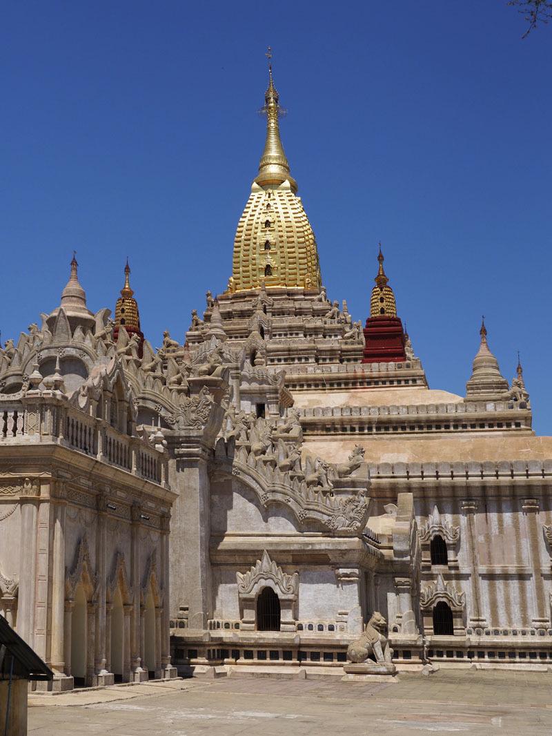 <ミャンマーの旅>見晴るかす三千基のパゴダ、バガン王朝の栄枯盛衰(バガン①)_1_4-2