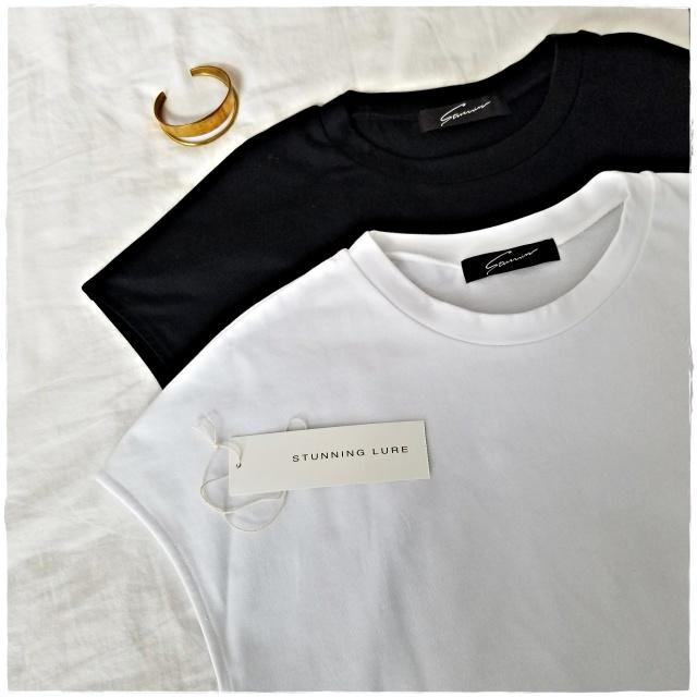 今年の白Tシャツはスタニングルアーのキャップスリーブに!_1_3
