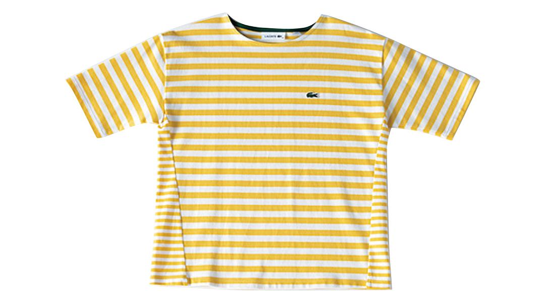ラコステのTシャツ