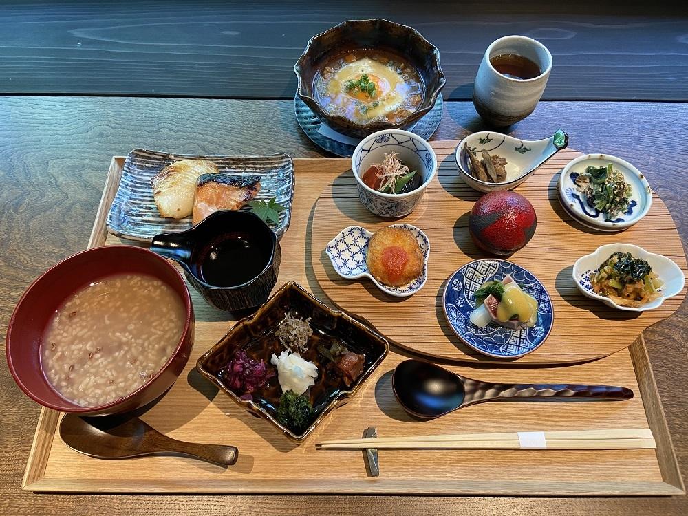 レストラン「滴翠」の朝食