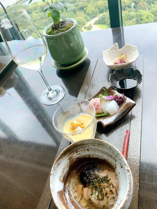 CONRAD東京「風花」日本料理・創作和食で女子会ランチ_1_4