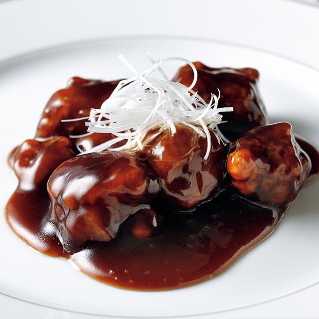 「黒酢の酢豚」180g ¥1,296