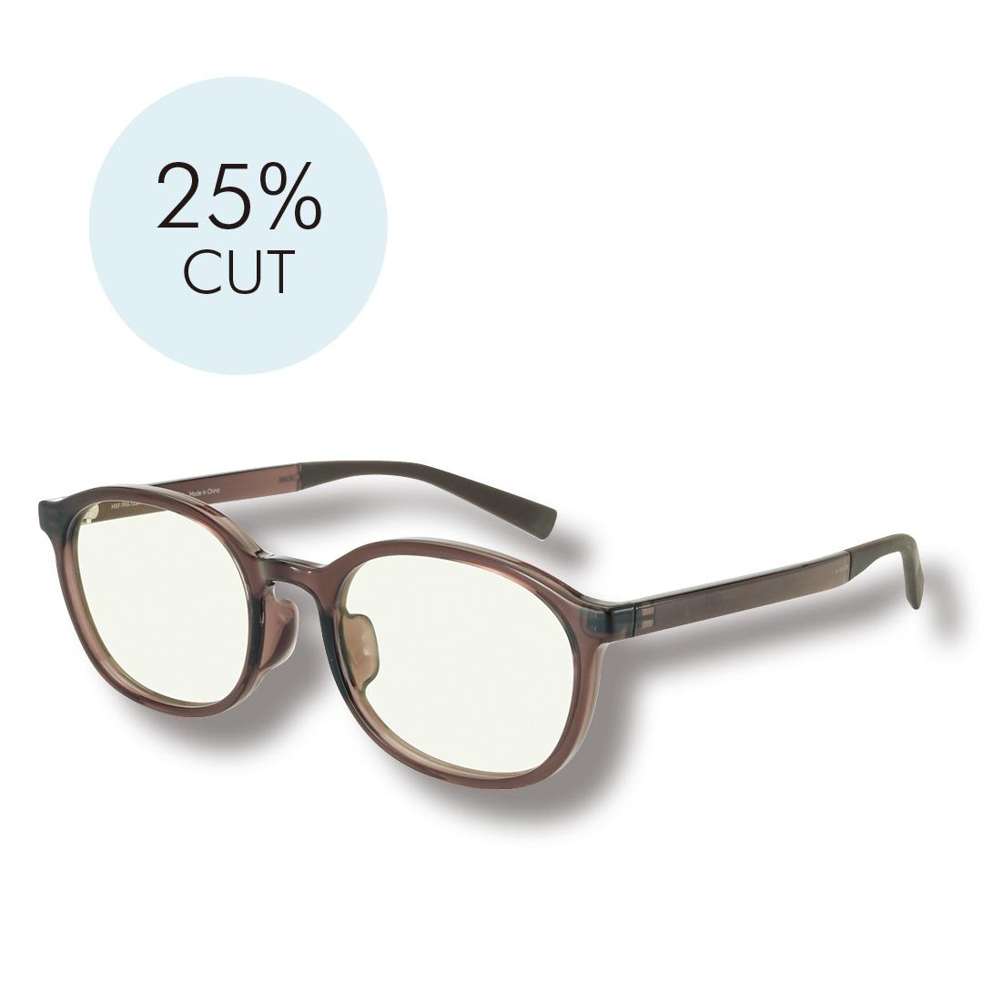 ブルーライトカット効果のあるメガネ、おしゃれにつけられるのはコレ!_1_3-1