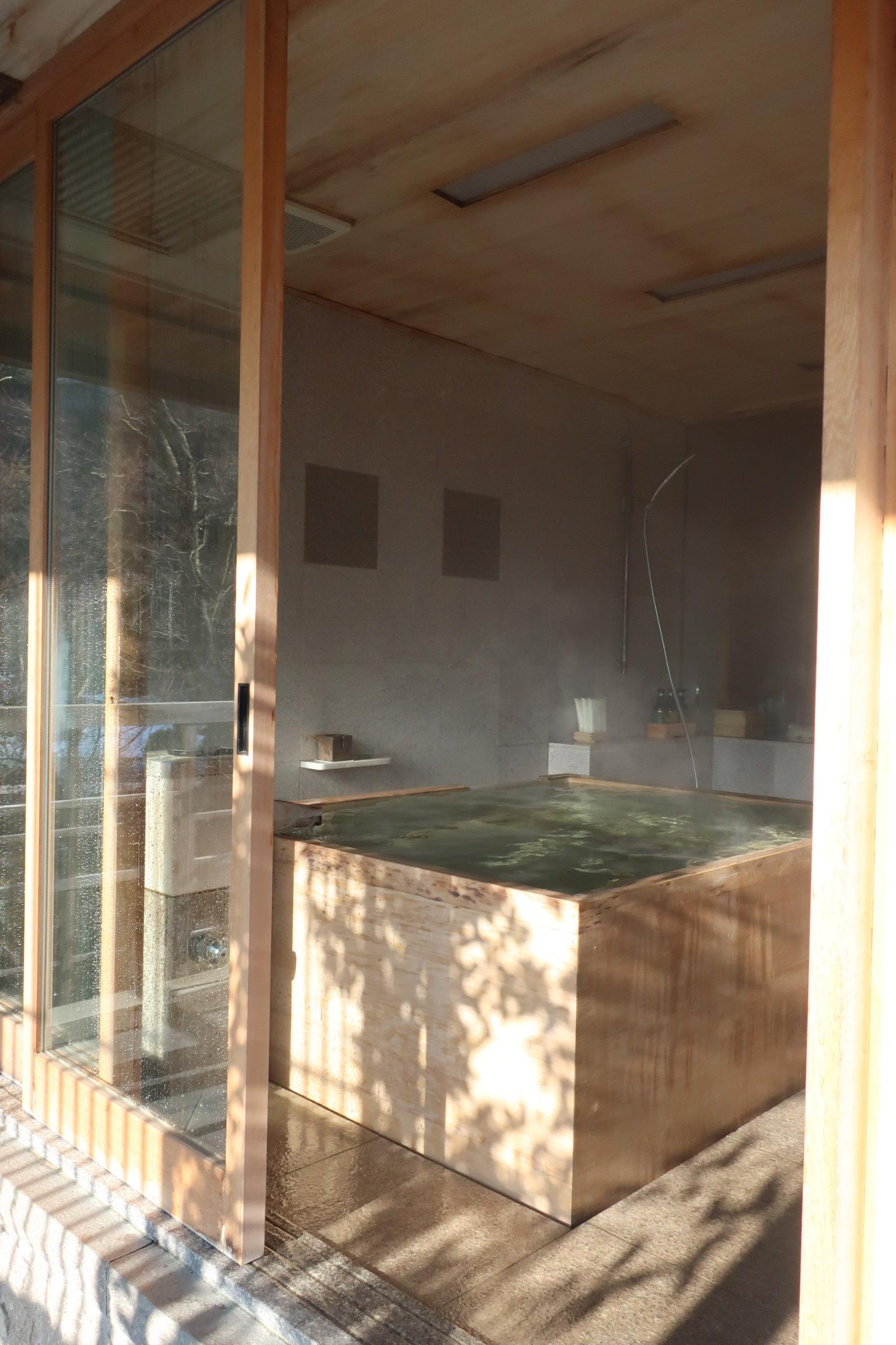 部屋付き露天風呂 強羅花壇