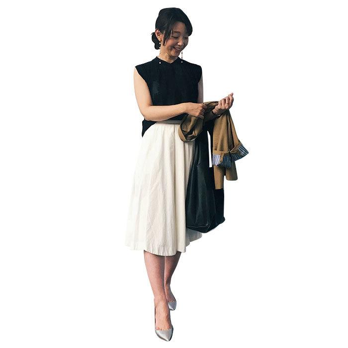仕事で年140回飛行機に!美女組keiさんの出張着回し術は必見【美女組ファッションSNAP】_1_3-2