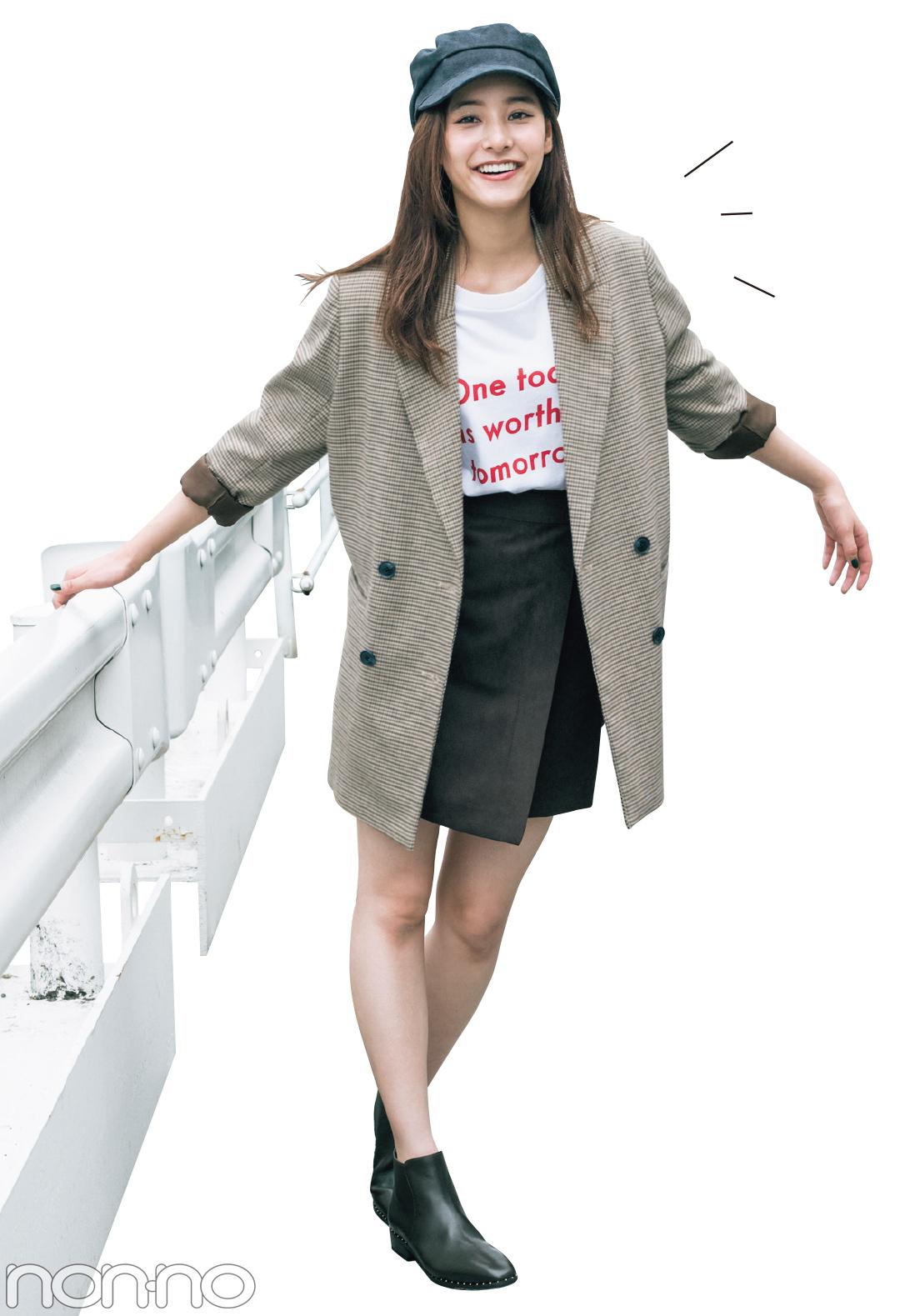 新木優子のトレンドコーデ♡ 秋の「ジャケット」は10倍可愛く着回せる!_1_2-2