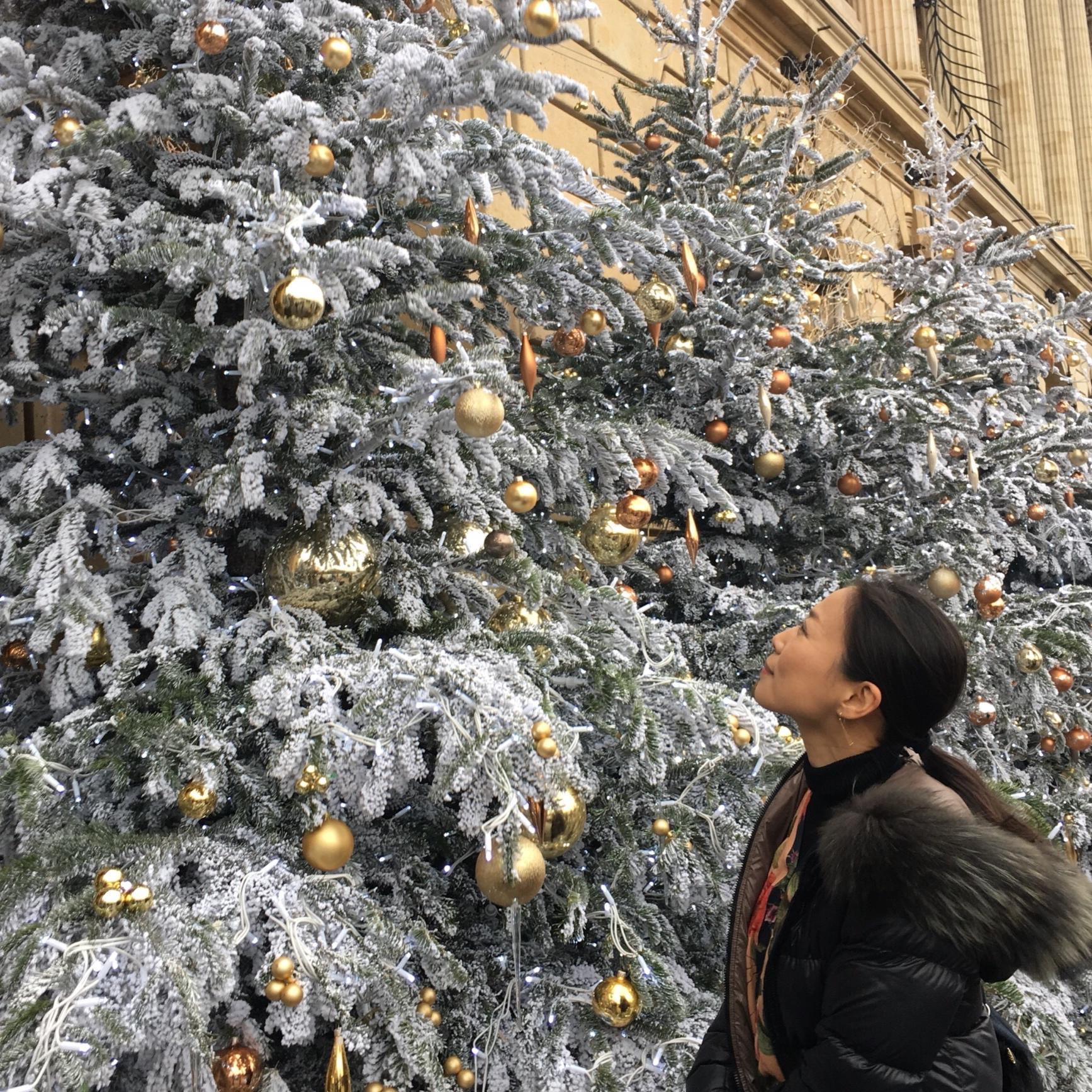 クリスマスムードの海外での年末年始_1_1