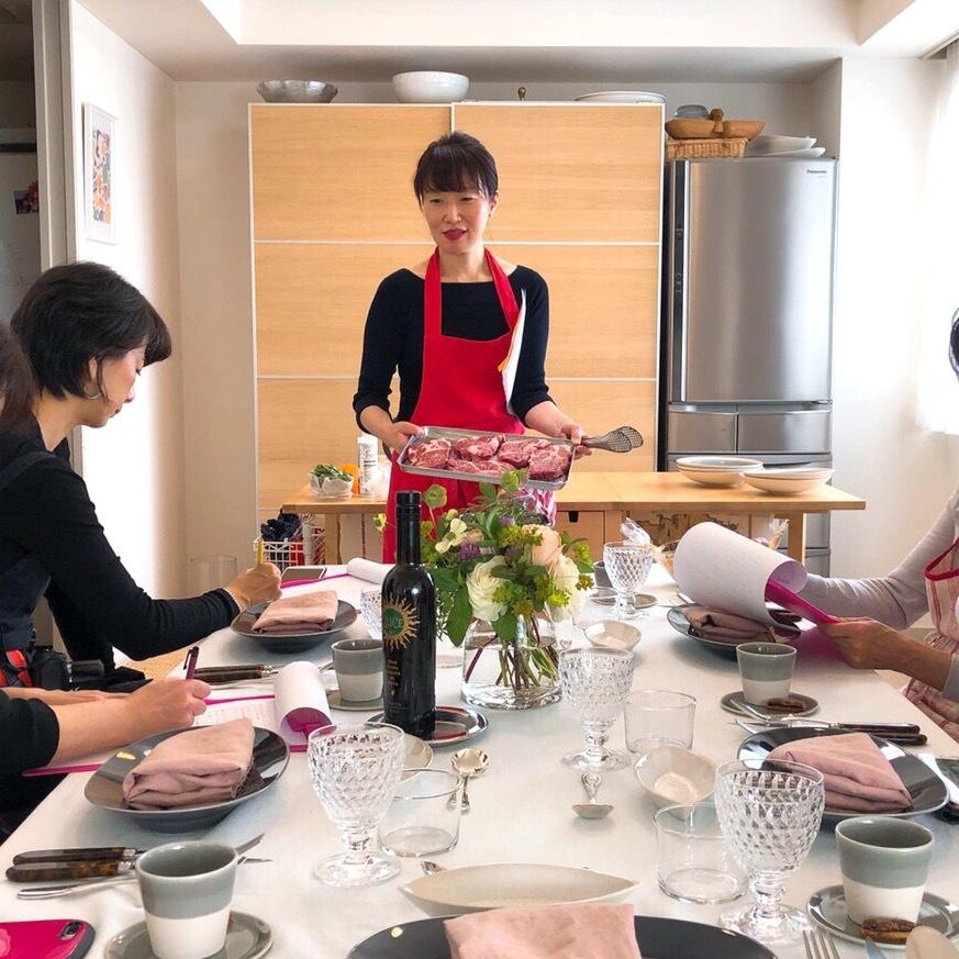 エクラでもおなじみ 島田まきさんのお料理教室へ_1_2