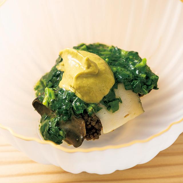 京都の四条にあるフュージョンレストラン「熙怡 kii」の蒸しアワビ